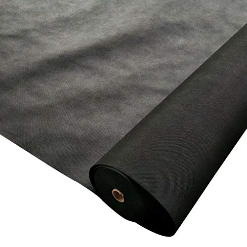 OriginA-23Oz-Premium-Weed-Control-Fabric-Ground-Cover-Weed-Barrier-Eco-Friendly-for-Vegetable-Garden-LandscapeNon-Woven-Fabric3x150ftBlack-0