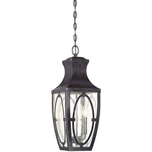 Outdoor-Pendant-2-Light-with-English-Bronze-with-Gold-Steel-Glass-B-8-inch-80-W-0