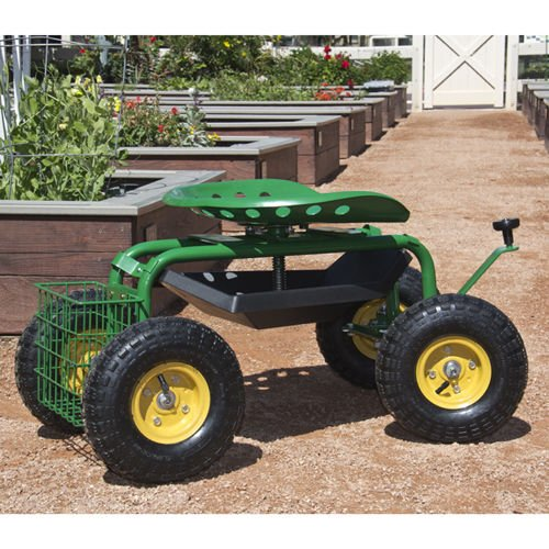 PREMIUM-QUALITY-SEAT-GARDEN-WORK-TOOL-ROLLING-CART-WILL-HELP-YOU-GET-THE-JOB-DONE-MORE-EFFICIENTLY-AND-EFFECTIVELY-DURABLE-AND-EASY-TO-USE-RED-COLOR-0
