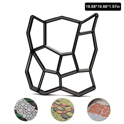 Pavement-Mold-Walk-Maker-JARAGAR-DIY-Manually-Garden-Walk-Maker-Mold-Garden-Pavement-Pathmate-Concrete-Mold-Pavement-Mold-Patio-Concrete-Stepping-Stone-Durable-Easy-to-Use-0