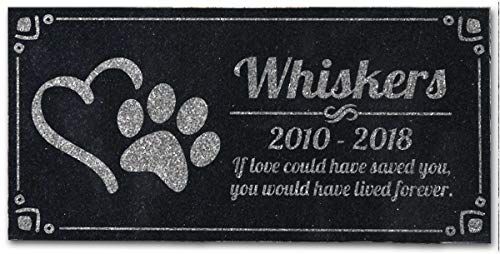 Pet-Grave-Marker-Personalized-Dog-Paw-Heart-Pet-Headstones-Custom-Engraved-Absolute-Black-Granite-Garden-Plaque-Engraved-with-Dog-Cat-Name-Dates-0