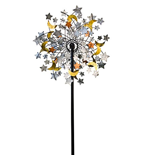 Plow-Hearth-54322-Celestial-Confetti-Garden-Wind-Spinner-0