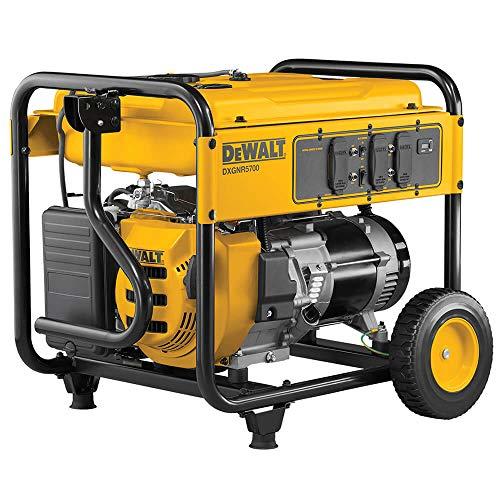 Portable-Generator-DEWALT-Generators-7000-Watt-Gasoline-Powered-Electric-Start-0