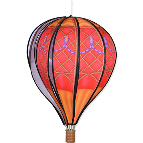 Premier-Kites-22-in-Hot-Air-Balloon-Red-Vintage-0