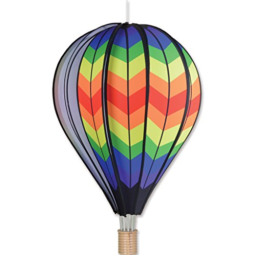 Premier-Kites-26-in-Hot-Air-Balloon-Double-Rainbow-Chevron-0