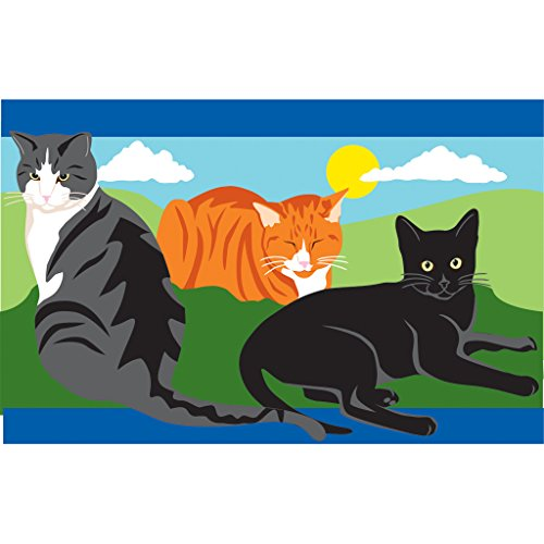 Premier-Kites-78701-Prestige-Windsock-Kitty-Kitty-8-by-50-Inch-0-0