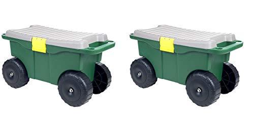 Pure-Garden-75-MJ2011-20-Plastic-Garden-Storage-Cart-Scooter-0-1