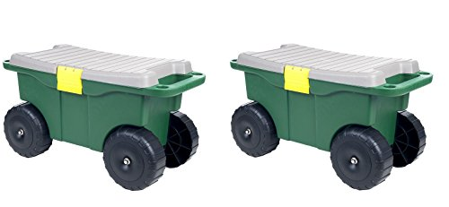 Pure-Garden-75-MJ2011-20-Plastic-Garden-Storage-Cart-Scooter-0