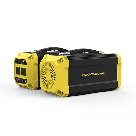 ROCKSOLAR-330Wh-Battery-Portable-Power-Station-300W-Pure-SineWave-Inverter-0-1