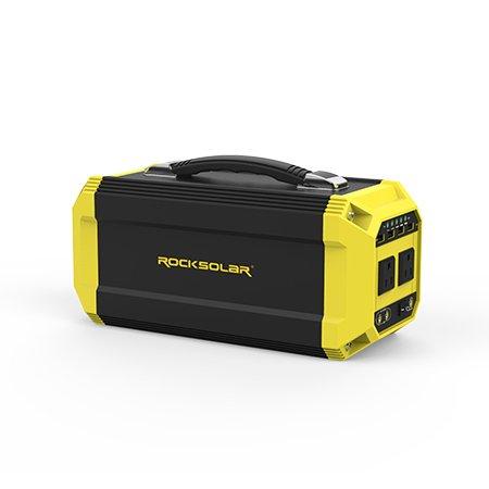 ROCKSOLAR-330Wh-Battery-Portable-Power-Station-300W-Pure-SineWave-Inverter-0