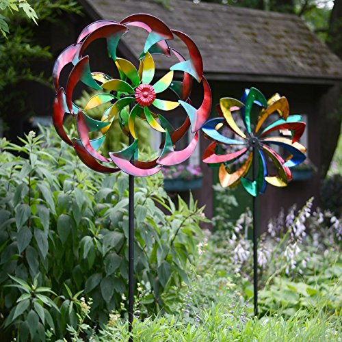 Red-Carpet-Studios-84-in-Power-Flower-Wind-Spinner-0-0