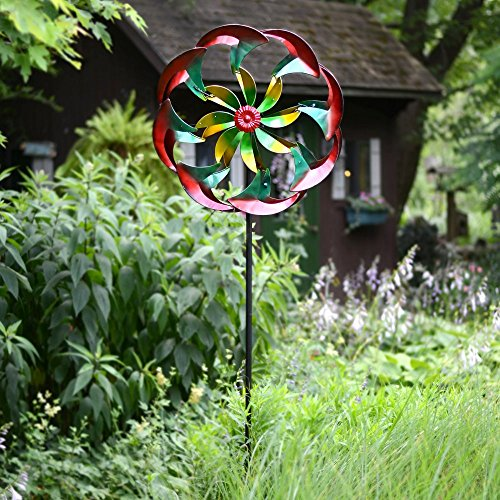 Red-Carpet-Studios-84-in-Power-Flower-Wind-Spinner-0