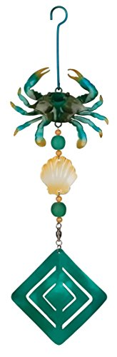 Regal-Art-Gift-Crab-Twirly-Garden-Hanging-Ornament-0