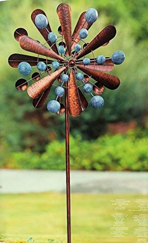 Reversible-Extra-Large-Wind-Spinner-Catcher-23-Wide-83-High-Weather-Resistant-Finish-0-0