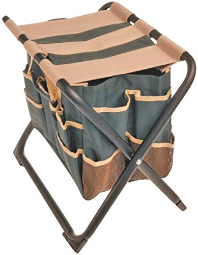 Rocky-Mountain-Goods-Folding-Garden-Stool-with-Detachable-Canvas-Bag-Holds-up-to-350-lbs-Perfect-height-for-weeding-Tote-keeps-tools-close-at-hand-Heavy-duty-metal-frame-and-canvas-0