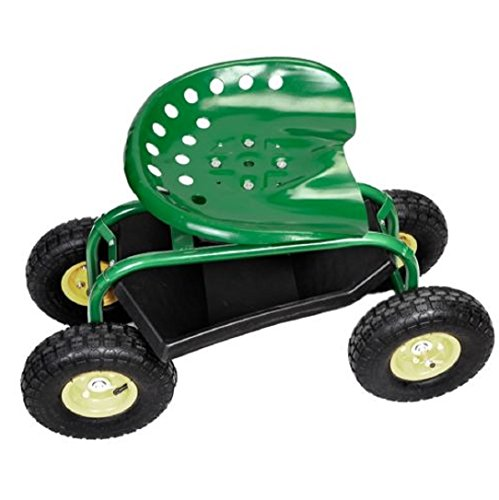 Rolling-Garden-Cart-Work-Seat-with-Heavy-Duty-Tool-Tray-Gardening-Planting-Green-0-4