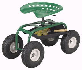 Rolling-Work-Seat-for-Use-in-Garden-or-Garage-with-a-Tray-This-Deluxe-Wheeled-Cart-Is-Comfortable-and-Easy-on-the-Back-This-Rolling-Stool-Is-Heavy-Duty-Built-to-Last-This-Utility-Cart-Also-Has-a-Weigh-0