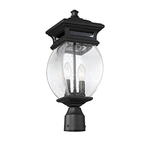 Savoy-House-Seven-Oaks-725-2-Light-Outdoor-Post-Lantern-in-Black-0-0