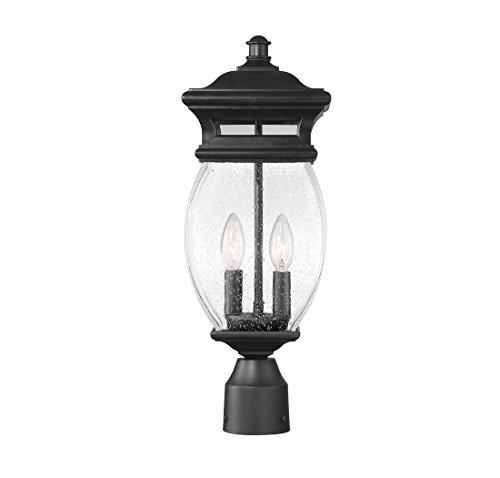Savoy-House-Seven-Oaks-725-2-Light-Outdoor-Post-Lantern-in-Black-0-2
