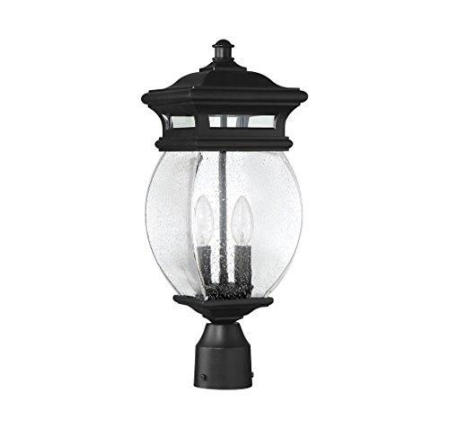 Savoy-House-Seven-Oaks-725-2-Light-Outdoor-Post-Lantern-in-Black-0