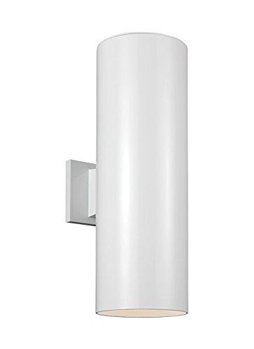 Seagull-8413991S-15-LED-8413991S-15-LED-Wall-Lantern-White-0