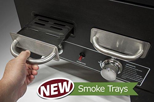 Smoke-Hollow-PS4415-Pro-Series-Propane-Smoker-33-x-245-x-60-Black-0-2