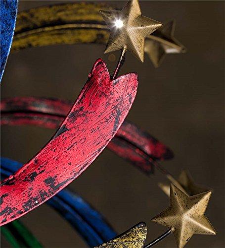 Solar-Shooting-Star-Metal-Wind-Spinner-0-0