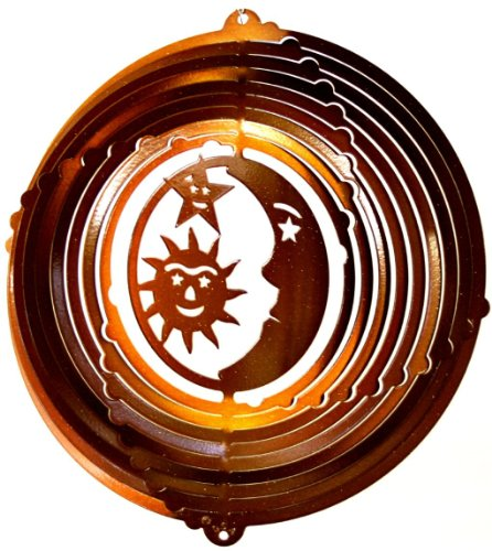 Stainless-Steel-Wind-Spinner-12-Sun-Moon-Stars-Copper-Starlight-0