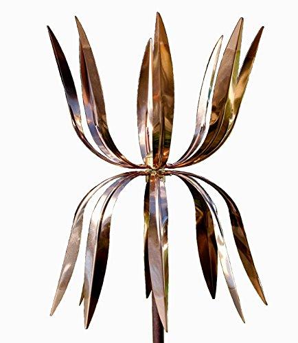 Stanwood-Wind-Sculpture-Kinetic-Copper-Wind-Sculpture-Dual-Spinner-Dancing-Octopus-0
