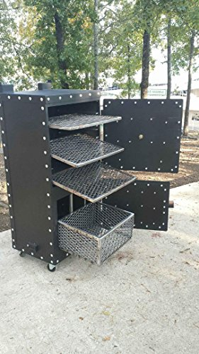 Steel-Mountain-Grill-Smoker-BBQ-barbecue-100-complete-Grills-0-2