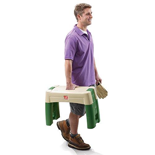 Step2-Garden-Kneeler-Seat-Durable-Plastic-Gardening-Stool-with-Kneeling-Cushion-Pad-Multicolor-0-1