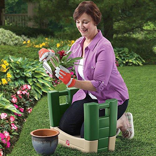 Step2-Garden-Kneeler-Seat-Durable-Plastic-Gardening-Stool-with-Kneeling-Cushion-Pad-Multicolor-0-2