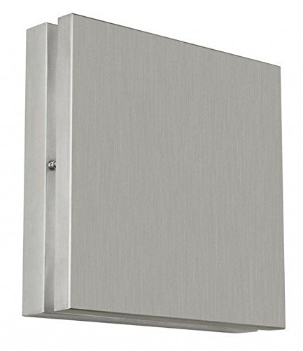 Stone-Lighting-WO803SSQ18-Quadro-Wash-Two-Light-Square-GU24-CFL-Outdoor-Wall-Washer-Stainless-Steel-Finish-0