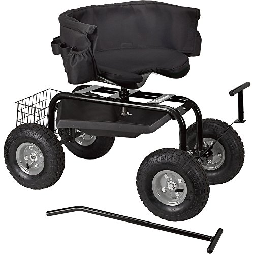 Strongway-Deluxe-Rolling-Garden-Seat-with-Easy-Change-Turnbars-0-2