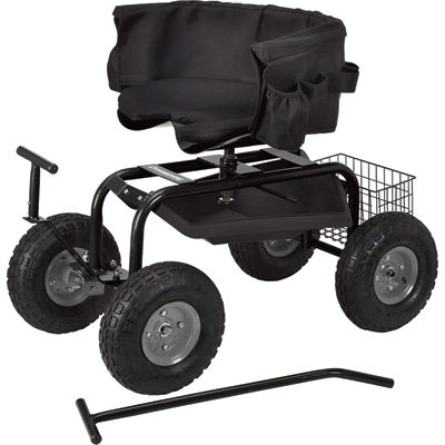 Strongway-Deluxe-Rolling-Garden-Seat-with-Easy-Change-Turnbars-0