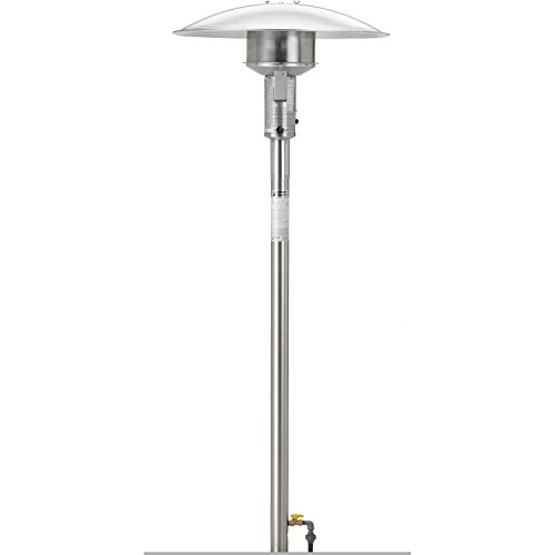 Sunglo-50000-Btu-Natural-Gas-Post-mount-Patio-Heater-Stainless-Steel-0