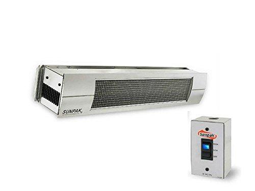 Sunpak-S34S-TSH-Hanging-Patio-Heater-Stainless-Steel-Propane-Gas-LP-Stainless-Steel-Front-Fascia-Kit-Plus-Free-Sunpak-eGuide-0