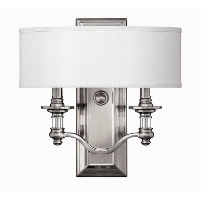 Sussex-Double-Sconce-With-Single-Drum-Shade-In-2-Finishes-0