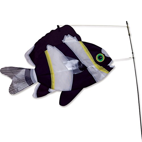 Swimming-Fish-Black-White-0