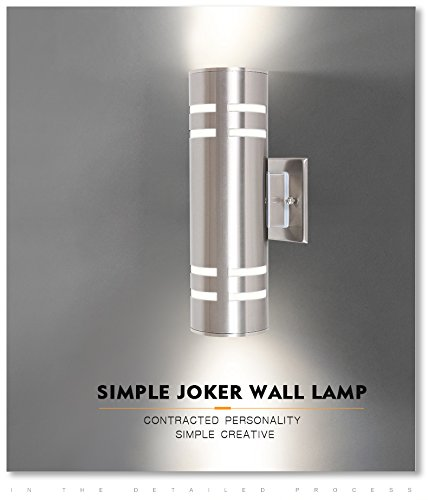 TENGXIN-Outdoor-Wall-Sconce-Waterproof-Wall-Light-Fixture-Porch-LightWall-Mount-Light-Stainless-Steel-304-Outdoor-Wall-Light-UL-Listed-Suitable-for-Garden-Patio-Lights-0-0