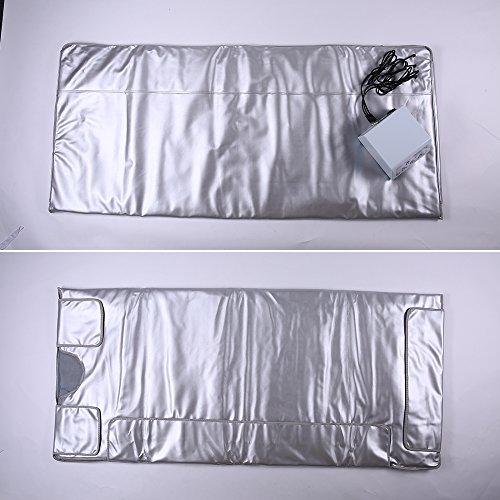 TTLITE-Digital-Far-Infrared-FIR-Heat-Sauna-Blanket-with-3-Zone-Controller-Weight-Lose-Health-Care-0-0