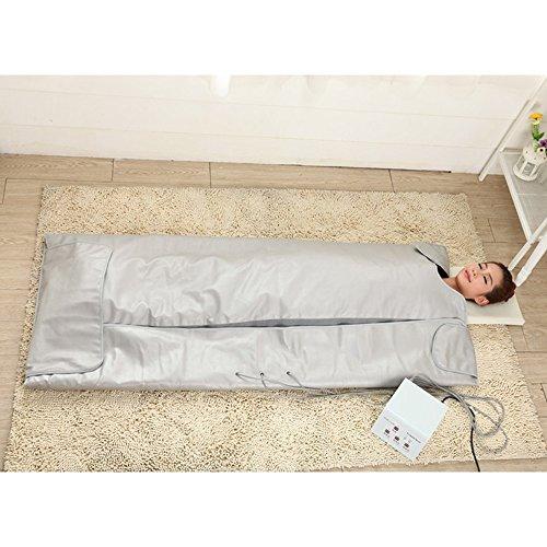 TTLITE-Digital-Far-Infrared-FIR-Heat-Sauna-Blanket-with-3-Zone-Controller-Weight-Lose-Health-Care-0-2