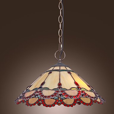 Tiffany-Pendant-Light-with-2-Lights-in-Warm-Light-Red-Edge-0