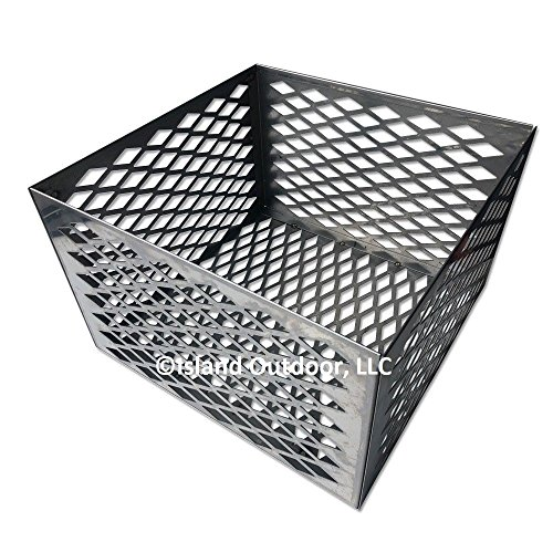 TimmyHouse-Charcoal-basket-fire-box-Oklahoma-Joe-longhorn-highland-BBQ-Smoker-STAINLESS-0