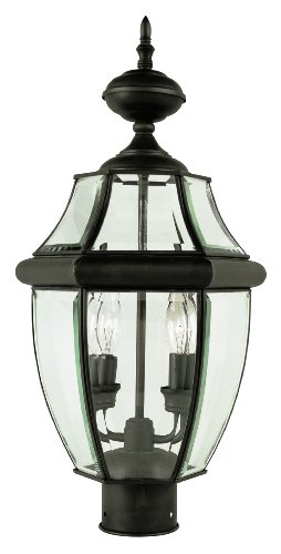 Trans-Globe-Lighting-4321WB-2-Light-Outdoor-Post-LightWeathered-Bronze-0