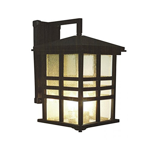 Transglobe-Lighting-4637-WB-Outdoor-Wall-Light-with-Seeded-Glass-Shades-Weathered-Bronze-Finished-0