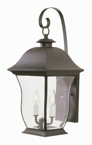 Transglobe-Lighting-4971-WB-Outdoor-Wall-Light-with-Beveled-Glass-Shades-Weathered-Bronze-Finished-0