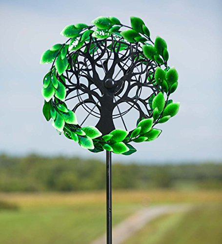 Tree-of-Life-Outdoor-Metal-Garden-Wind-Spinner-Sculpture-24-L-x-1614-W-x-75-H-0