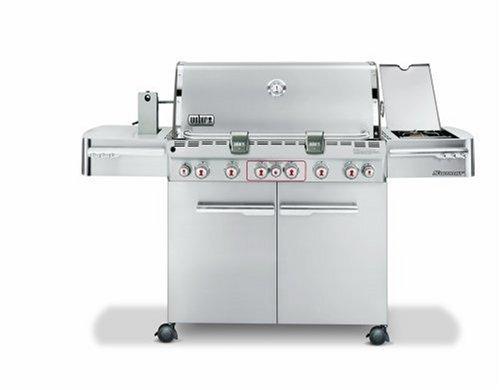 Weber-2780301-Summit-S-670-Propane-Tuck-Away-Rotisserie-Grill-Stainless-Steel-0