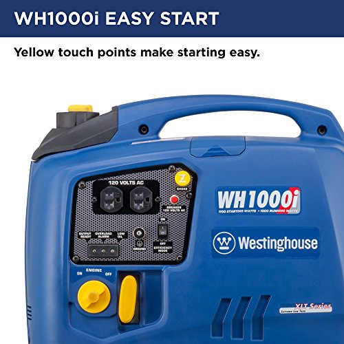 Westinghouse-WH1000i-Portable-Inverter-Generator-1000-Running-Watts-and-1100-Starting-Watts-Gas-Powered-0-2
